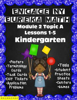 Engage NY {Eureka} Math Module 2 Topic A Lessons 1-5 Kindergarten