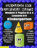 Engage NY {Eureka} Math Module 2 Topics B and C Lessons 6-9 Kindergarten