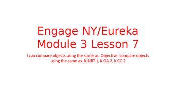 Engage NY/Eureka Math Module 3 Lesson 7