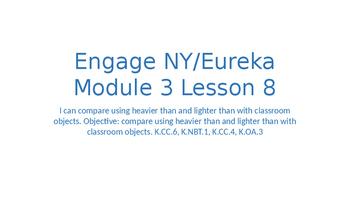 Engage NY/Eureka Math Module 3 Lesson 8