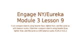 Engage NY/Eureka Math Module 3 Lesson 9