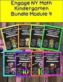 Engage NY {Eureka} Math Module 4  Bundle Kindergarten