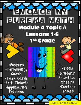 Engage NY {Eureka} Math Module 4 Topic A Lessons 1-6 1st Grade