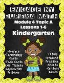 Engage NY {Eureka} Math Module 4 Topic A Lessons 1-6 KINDERGARTEN