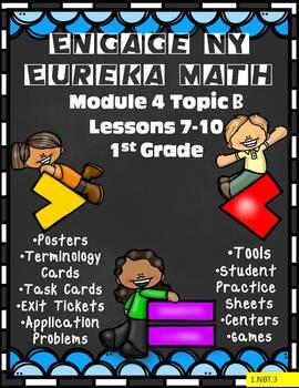Engage NY {Eureka} Math Module 4 Topic B Lessons 7-10 1st Grade