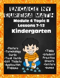 Engage NY {Eureka} Math Module 4 Topic B Lessons 7-12 KINDERGARTEN