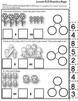 Engage NY {Eureka} Math Module 4 Topic C Lessons 13-18 KINDERGARTEN