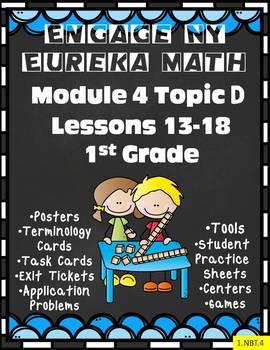 Engage NY {Eureka} Math Module 4 Topic D Lessons 13-18 1st Grade