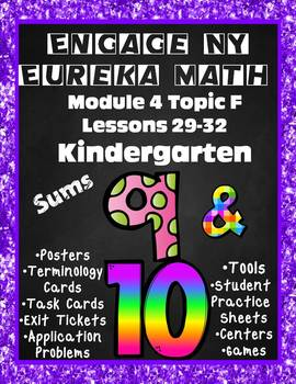 Engage NY {Eureka} Math Module 4 Topic F Lessons 29-32 KINDERGARTEN