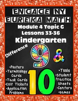 Engage NY {Eureka} Math Module 4 Topic G Lessons 33-36 Kindergarten
