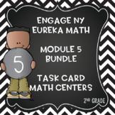 Engage NY Eureka Math Module 5:Lesson 1-20 BUNDLED Math Centers- Task Cards