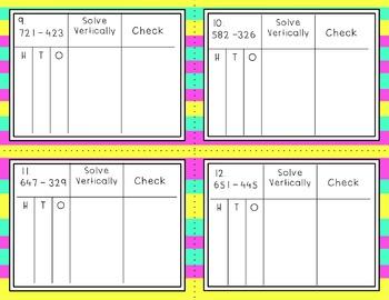 Engage NY Eureka Math Module 5 : Lesson 15  Math Center - Task Cards- Scoot Game