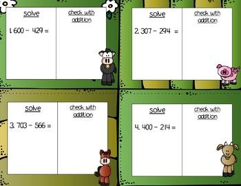Engage NY Eureka Math Module 5 : Lesson 17 Math Center - Task Cards