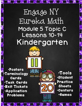 Engage NY (Eureka) Math Module 5 Topic C Lessons 10-14 Kindergarten