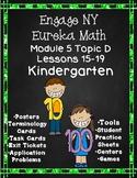 Engage NY {Eureka} Math Module 5 Topic D Lessons 15-19 Kindergarten