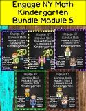 Engage NY {Eureka Math} Module 5 Topics A-E  Bundle Kindergarten
