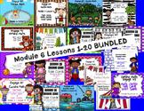 Engage NY Eureka Math Module 6 :Lesson 1-20 BUNDLED Math Centers- Task Cards