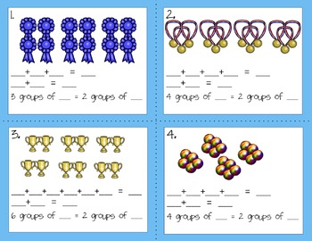 Engage NY Eureka Math Module 6 : Lesson 3  Math Center - Task Cards