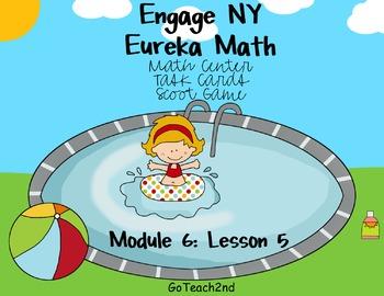 Engage NY Eureka Math Module 6 : Lesson 5  Math Center - Task Cards