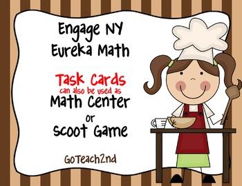 Engage NY Eureka Math Module 6 : Lesson 6  Math Center - Task Cards