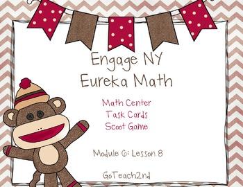Engage NY Eureka Math Module 6 : Lesson 8  Math Center - T