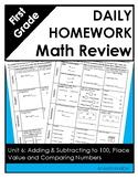 Eureka Math Grade One Module 6 Weekly Homework