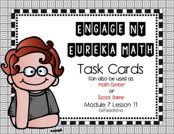 Engage NY - Eureka Math  Module 7: Lesson 11 Task Cards