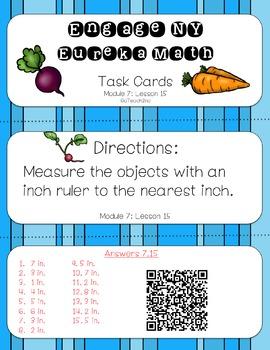 Engage NY - Eureka Math  Module 7: Lesson 15 Task Cards