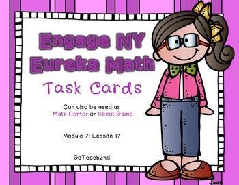 Engage NY - Eureka Math  Module 7: Lesson 17 Task Cards