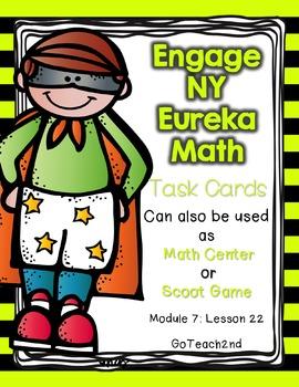 Engage NY - Eureka Math  Module 7: Lesson 22 Task Cards