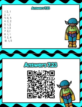 Engage NY - Eureka Math  Module 7: Lesson 23 Task Cards