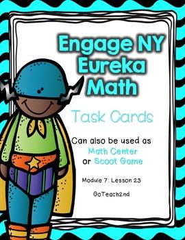 Engage NY - Eureka Math  Module 7: Lesson 23 Task Cards