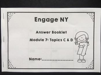 Engage NY/ Eureka Math Module 7 Topic  C & D  Bundled Lessons 14-19