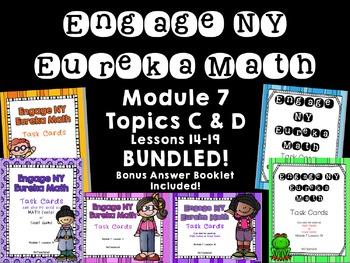 Engage NY/ Eureka Math Module 7 Topic  C & D  Bundled Less