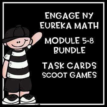 Engage NY Eureka Math Modules 5-8 BUNDLED *****SAVE*****