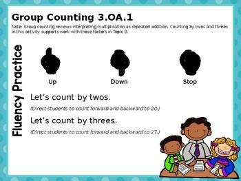 Engage NY/Eureka Math PowerPoint Presentation 3rd Grade Module 1 Lesson 5