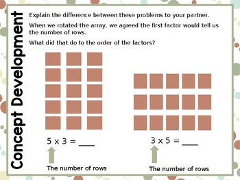 Engage NY/Eureka Math PowerPoint Presentation 3rd Grade Module 1 Lesson 8