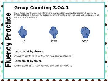 Engage NY/Eureka Math PowerPoint Presentation 3rd Grade Module 1 Lesson 9