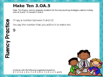 Engage NY/Eureka Math PowerPoint Presentation 3rd Grade Module 3 Lesson 3