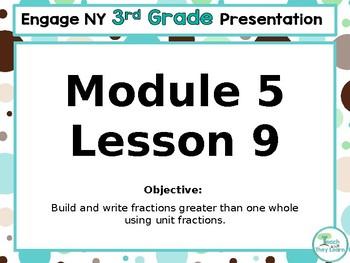 Engage NY/Eureka Math PowerPoint Presentation 3rd Grade Module 5 Lesson 9