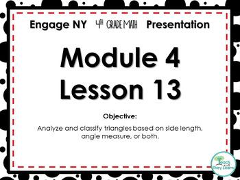 Engage NY/Eureka Math PowerPoint Presentation 4th Grade Module 4 Lesson 13