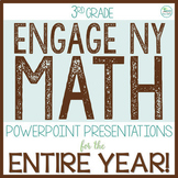Engage NY Math / Eureka Math PowerPoint Presentations 3rd Grade ENTIRE YEAR!