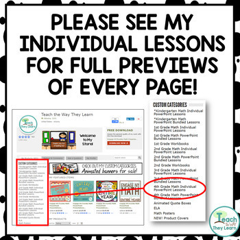Engage NY Math/Eureka PowerPoint Presentations 4th Grade Module 3 ALL LESSONS