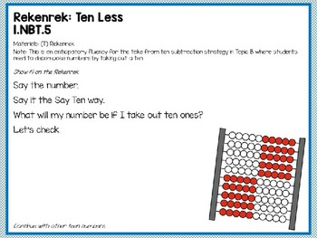 Engage NY (Eureka Math) Presentation 1st Grade Module 2 Lesson 11