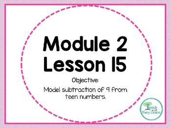 Engage NY/Eureka Math PowerPoint Presentation 1st Grade Module 2 Lesson 15