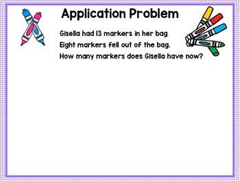 Engage NY (Eureka Math) Presentation 1st Grade Module 2 Lesson 17