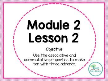 Engage NY (Eureka Math) Presentation 1st Grade Module 2 Lesson 2