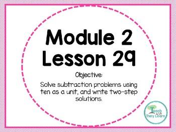 Engage NY (Eureka Math) Presentation 1st Grade Module 2 Lesson 29