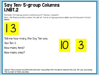 Engage NY/Eureka Math PowerPoint Presentation 1st Grade Module 2 Lesson 29
