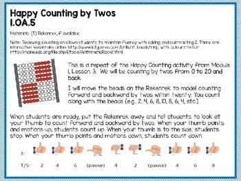 Engage NY (Eureka Math) Presentation 1st Grade Module 2 Lesson 6
